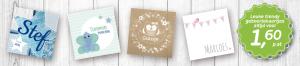 Geboortekaartjes, die bestel je toch online?